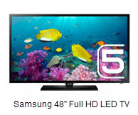 "Samsung 5 Series H5100 48"" Full HD LED TV"