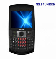 Telefunken TCP-007 Dual SIM Qwerty Trackball Cell Phone with TV