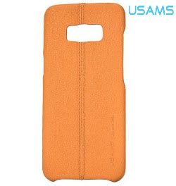 USAMS Joe Series Back Cover for Samsung S8 Plus Light Brown