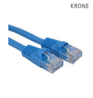 Krone Cat6 UTP Patch Blue Molded Cord- 1m