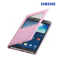 Samsung Galaxy Note 3 Soft Pink S-View Flip Cover