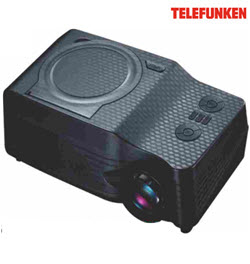 Telefunken TP-2500DVD Projector with DVD, FM, MP5, TV and Game