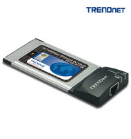 Trendnet TE100-PC16R 10/100Mbps PCMCIA Ethernet Card