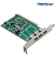 Trendnet TFW-H3PI 3-Port FireWire PCI Adapter