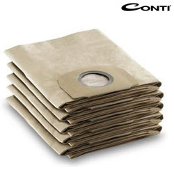 3PC Vacuum bags for Conti CWDS-1400 Vacuum Cleaner