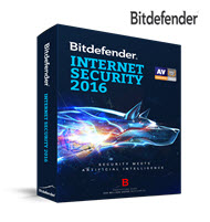 Bitdefender Internet Security 2016 3PC 1 Year DVD