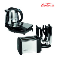 Sunbeam SKS-011 4-Piece Stainless Steel Deluxe Kitchen Pack