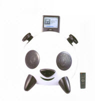 Telefunken T-PANDA 2.1 Powered iPod Speaker with Subwoofer