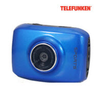 Telefunken TAC-125 Sports Waterproof Action Camera