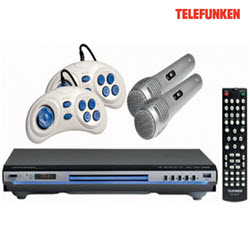 Telefunken TDV-7041KG DVD Player With Games Karaoke