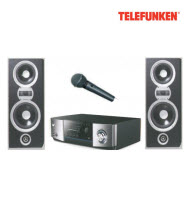 Telefunken THT-210BT HIFI System with Bluetooth, HDMI & Micropho