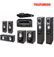 Telefunken THT-5200 5.2 Channel HIFI System with HDMI