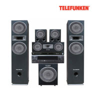 Telefunken THT-7100 5.1 Channel Component HIFI System
