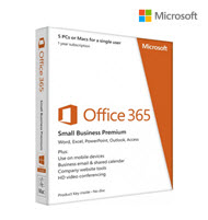 Microsoft Office 365 Business Premium 5PC 1Yr Subs