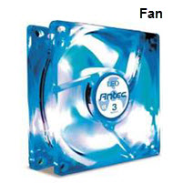 120mm Neon Multicolored Chassis Cooling Fan