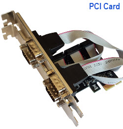 4 Port Serial PCI-E Card
