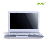 "Acer 10.1"" 1GB 250GB Windows 7 White Netbook"