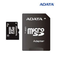 ADATA Class 4 High Capacity 4GB Micro SD with Adaptor