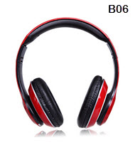 B06 Bluetooth Wireless Stereo Blue Headphone