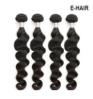 Brazilian Remy E-hair 24 Inch Wavy Extension