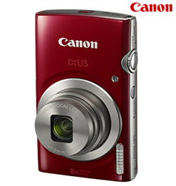 Canon PowerShot IXUS 185 Red 20MP Digital Compact Camera