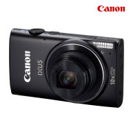 Canon PowerShot IXUS 255 Black 16MP Digital Compact Camera
