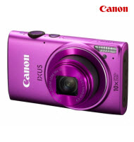 Canon PowerShot IXUS 255 Pink 16MP Digital Compact Camera