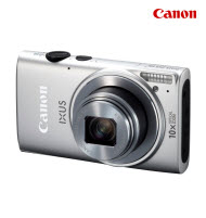Canon PowerShot IXUS 255 Silver 16MP Digital Compact Camera