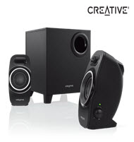 Creative A250 Powerful 2.1 Speaker System