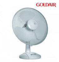 GoldAir GDF-12Y 30cm Desk Fan