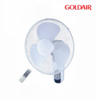GoldAir GWFR-160 40cm Wall Mount Fan with Remote