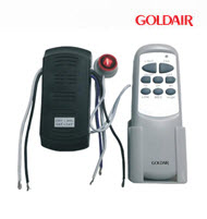 GoldAir GCFR-001 Universal Ceiling Fan Remote Control Set