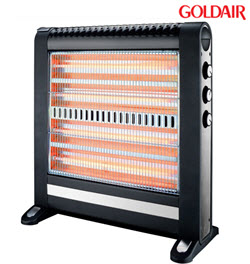 Goldair GQH-1256 2400W 4 Bar Quartz Heater