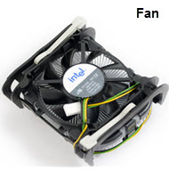 Intel Socket 478 Processor Fan