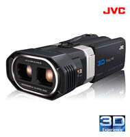 JVC  GS-TD1 Everio Full HD 3D Camcorder
