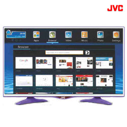 JVC LT-32N646PP 32 Inch Purple FHD Smart Andoid Wifi ELED TV