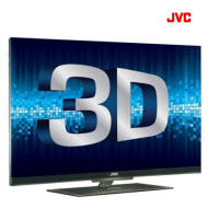 "JVC LT-55N810 55"" Edgeless 3D FHD LED TV"