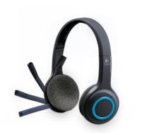 Logitech H600 Wireless Black Stereo Headset