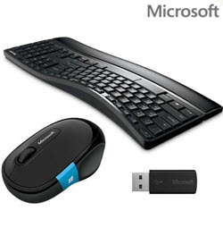 Microsoft Sculpt Comfort Wireless Keyboard Mouse Desktop