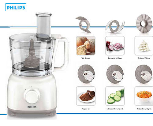 philips hr7627 daily collection food processor online shopping south africa tiptop shopping cart. Black Bedroom Furniture Sets. Home Design Ideas
