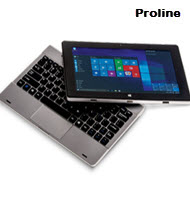 Proline UC10 10.1in 3G 32GB Windows 10 Home Tablet with Keyboard