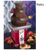 Retro RFF-500 Chocolate Fondue Fountain