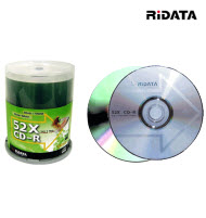 RiDATA CD-R 52x Wide Pearl White Print - 10Packs