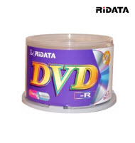 RiDATA DVD-R 16x 4.7GB Wide Pearl White Print - 50Packs