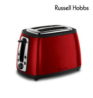 Russell Hobbs 2 Slice Red Heritage Toaster