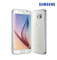 Samsung GALAXY S6 White LTE 5.1 Inch Android Smartphone