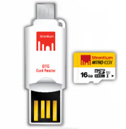 Strontium NITRO 16GB Micro SD with OTG Card Reader
