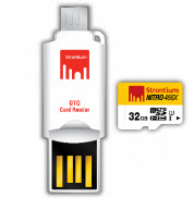 Strontium NITRO 32GB Micro SD with OTG Card Reader