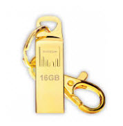 Strontium AMMO Gold 16GB USB Flash Drive FREE Key Chain Included