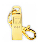 Strontium AMMO Gold 32GB USB Flash Drive FREE Key Chain Included